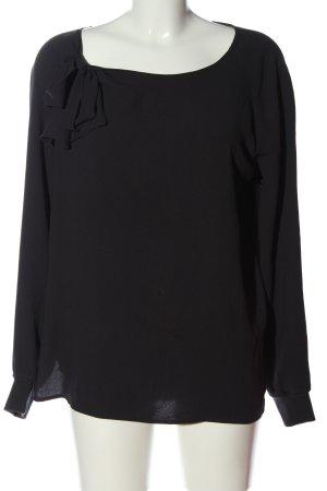 Closet Camicetta a maniche lunghe nero stile professionale