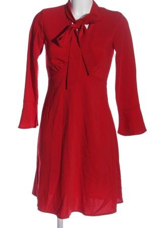 Closet Abito a maniche lunghe rosso elegante