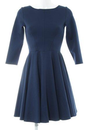 Closet Langarmkleid dunkelblau Elegant