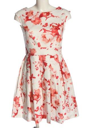 Closet London Cocktail Dress white-red allover print elegant