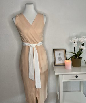 Closet Midi Dress white-pink