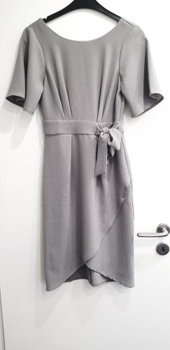 Closet Midi Dress gold-colored-light grey mixture fibre