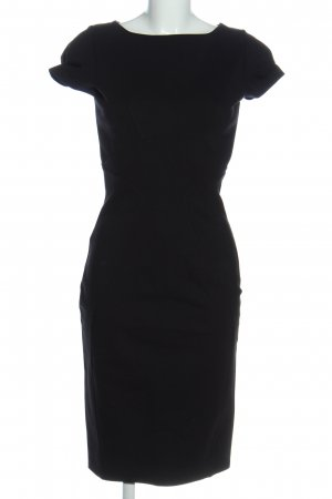 Closet London Kurzarmkleid schwarz Casual-Look