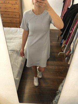 Closet London Skaterkleid T-Shirt Kleid hellgrau Gr. 34 / 36