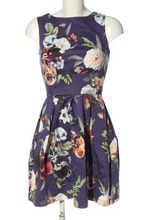 Closet Minikleid lila Allover-Druck Elegant