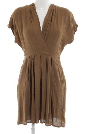 Closet Minikleid bronzefarben Casual-Look