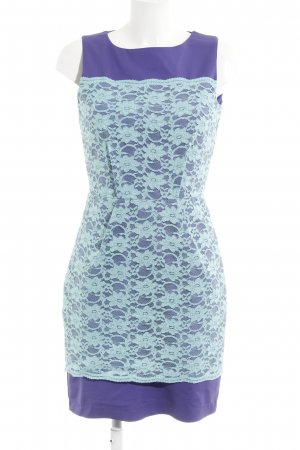 Closet Minikleid lila-türkis
