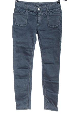 Closet Drainpipe Trousers blue casual look