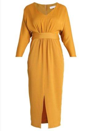Closet schönes Kleid, Senf, Gr. 36