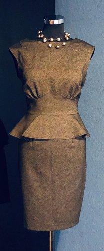 Closet Sukienka z baskinką jasnobrązowy