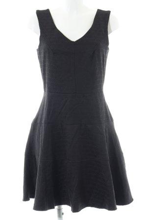 Closet Trägerkleid schwarz grafisches Muster Elegant