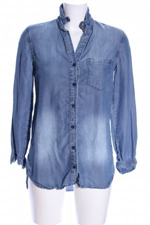 cloth & stone Jeanshemd blau Casual-Look