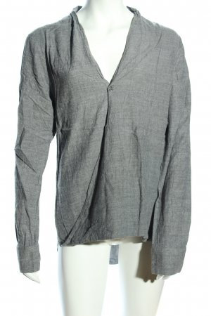 cloth & stone Long Blouse light grey flecked casual look