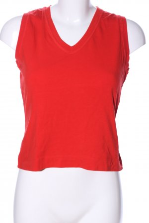 Clothcraft Top basic rosso stile casual