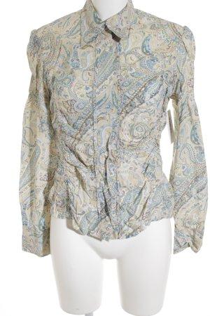Clothcraft Hemd-Bluse abstraktes Muster Hippie-Look