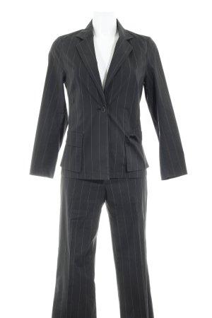 Clothcraft Kostüm graubraun Nadelstreifen Business-Look