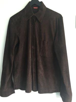 Clothcraft Lederhemd /Bluse mit Lochprägung, total angesagt