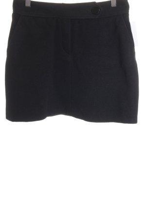 Clothcraft Jupe en laine noir style classique