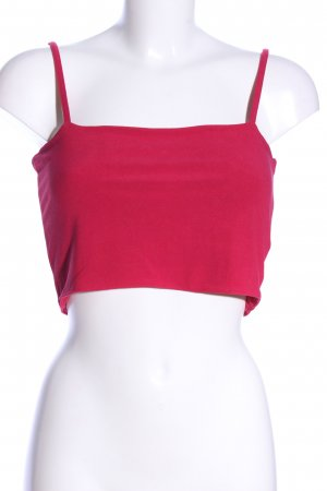 Cropped Top rot Casual-Look
