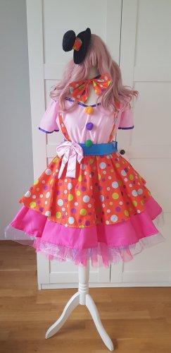 Clown Harlekin Kostüm Halloween Karneval S-M