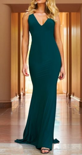 Club L Evening Dress multicolored
