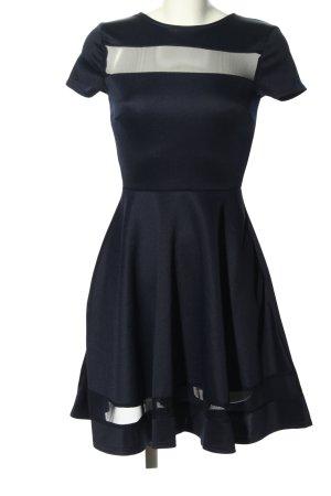 Club L Robe à manches courtes noir élégant