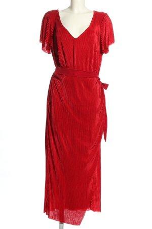 Club L Kurzarmkleid rot klassischer Stil