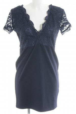 Club L Shortsleeve Dress dark blue elegant