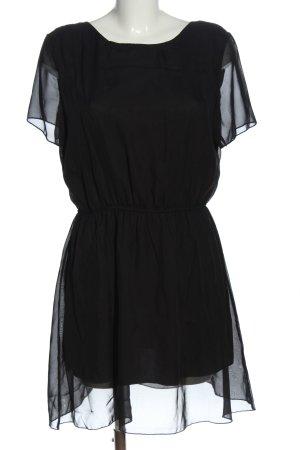 Club L Kurzarmkleid schwarz Elegant