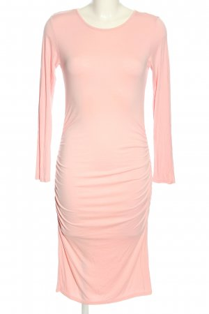 Club L Langarmkleid pink Casual-Look