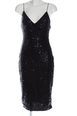 Club L London Robe à paillettes noir élégant