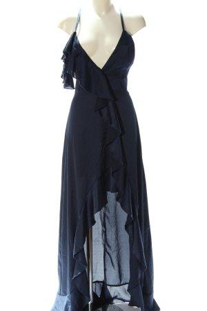 Club L London Vestido mullet azul elegante