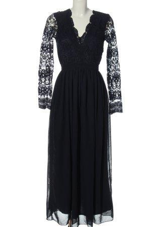 Club L Maxi abito nero elegante