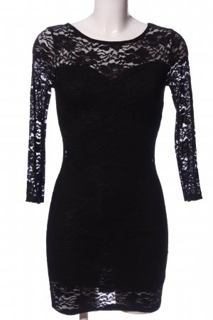 Club L Mini Dress black elegant