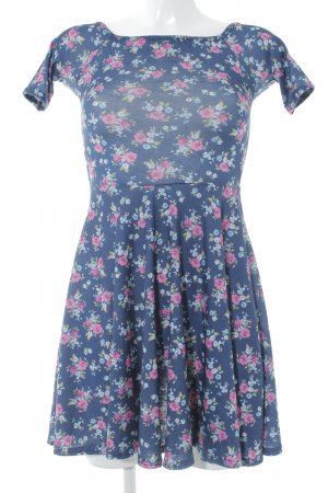 Club L Mini Dress flower pattern casual look