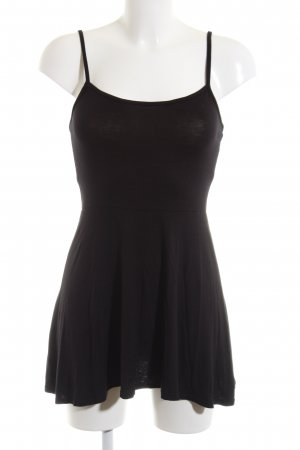Club L Spaghetti Strap Top black viscose