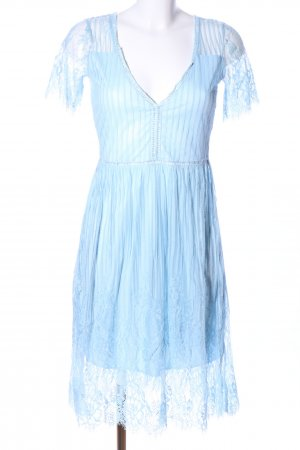 Club L Lace Dress blue elegant
