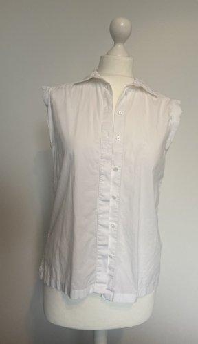 Club Monaco Short Sleeved Blouse white