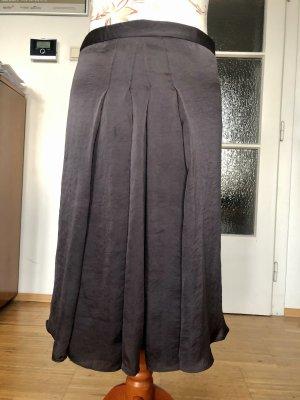 Club Monaco Plaid Skirt dark brown