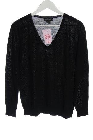 Club Monaco Fine Knit Jumper black casual look