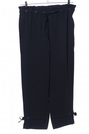 Club Monaco High-Waist Hose schwarz Business-Look