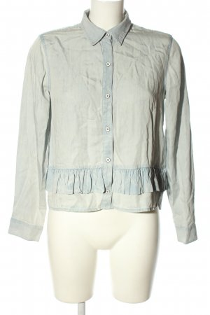 Club Monaco Jeansbluse blau Casual-Look