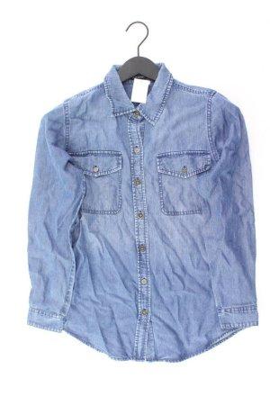Club Monaco Jeansbluse Größe XS Langarm blau