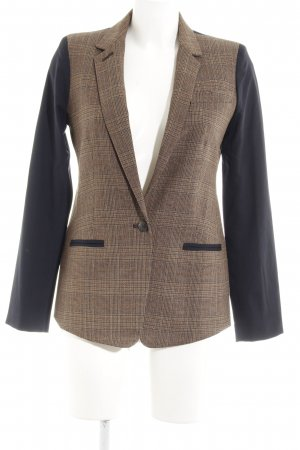 Club Monaco Kurz-Blazer Karomuster Business-Look