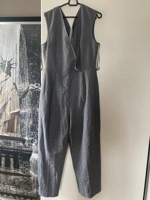 Club Monaco L 40 grau Einteiler Overall Jumpsuit