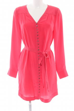 Club Monaco Long-Bluse rot Business-Look