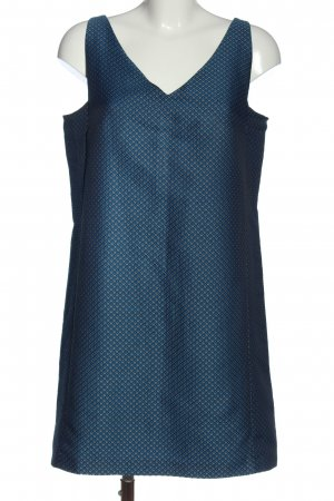 Club Monaco Mini Dress blue-natural white check pattern elegant