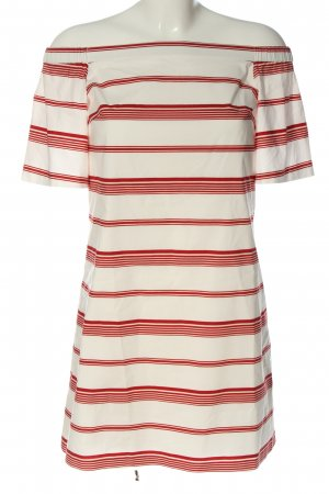 Club Monaco Mini Dress white-red allover print casual look
