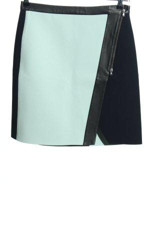 Club Monaco Minigonna blu-bianco stile casual