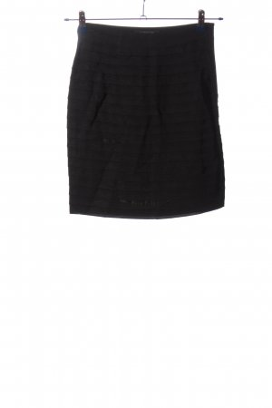 Club Monaco Miniskirt black striped pattern business style